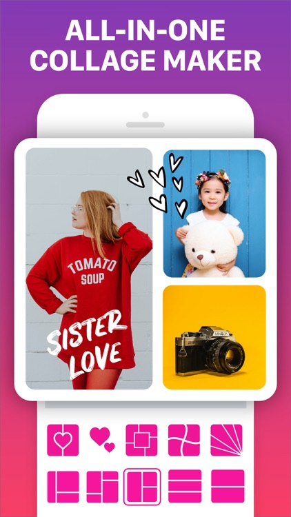 Photo Collage Maker & Pic Grid screenshot-7