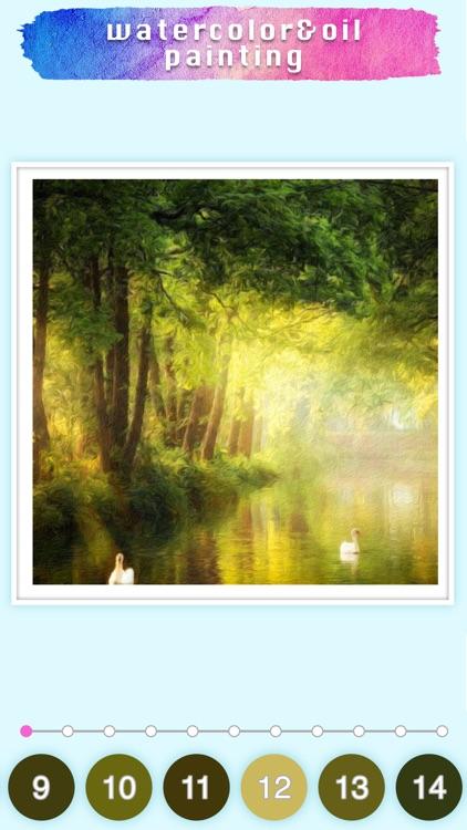 Watercolor & Oil painting game screenshot-9