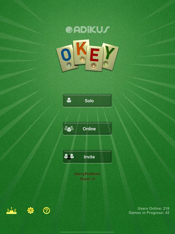 Screenshot #6 pour Okey Online