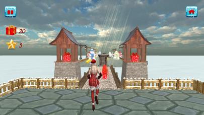 Christmas Santa Girl Run screenshot 8