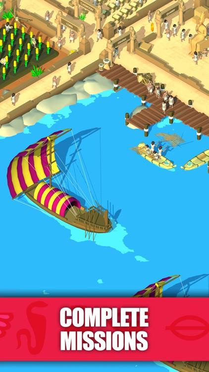 Idle Egypt Tycoon: Empire Game screenshot-4