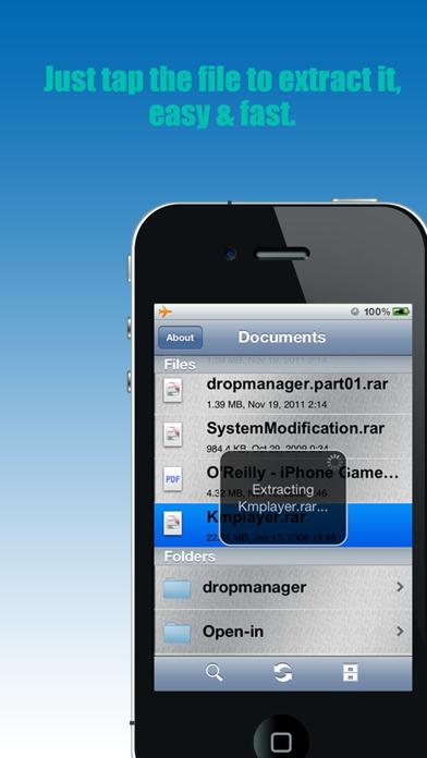 RarExtractor - Extract RAR,ZIP screenshot two