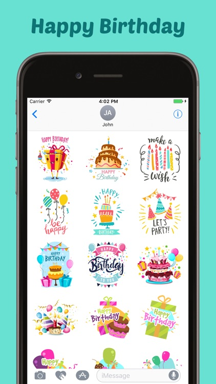 Happy Birthday Stickers Pack!