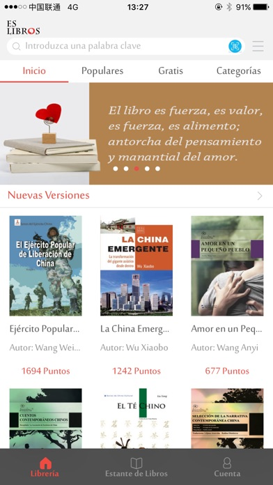 Screenshot for EsLibros in Belgium App Store