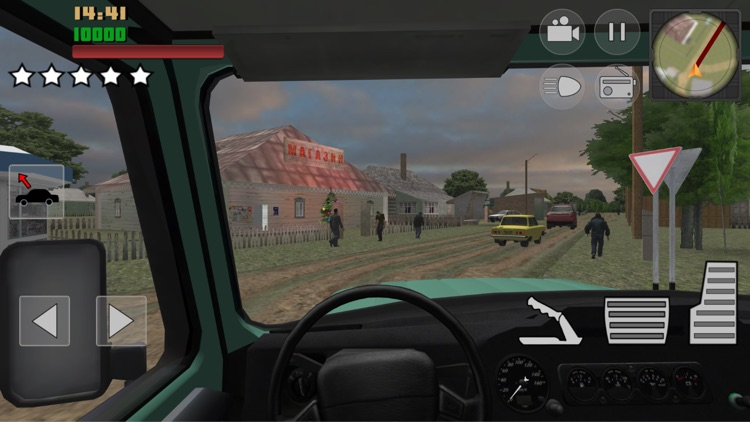 Real City Russian Car Driver screenshot-3