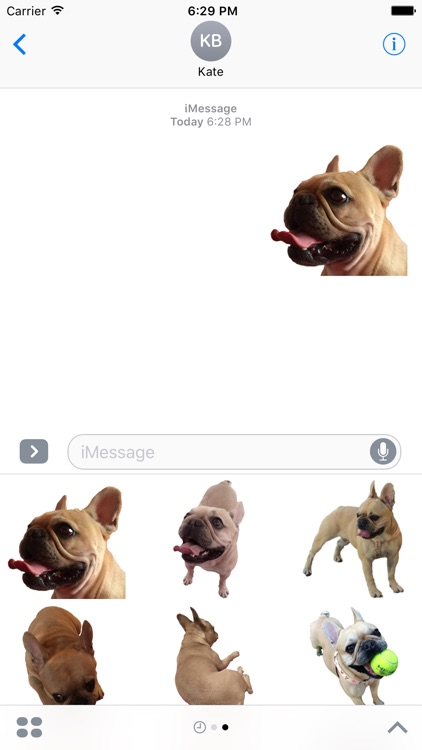 Frenchie Stickers Pack