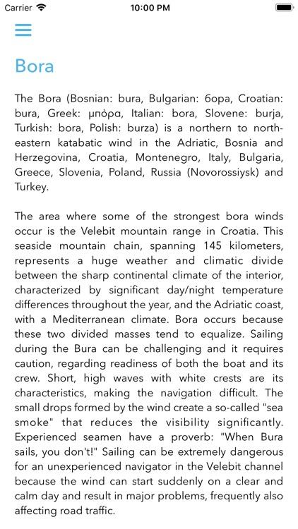 Adriatic winds