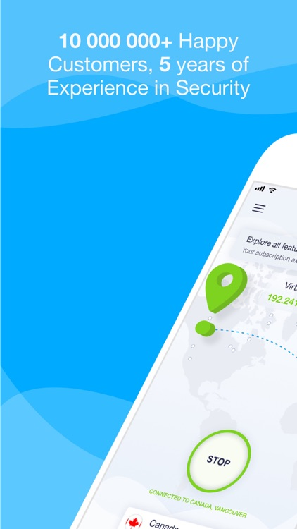 VPN Unlimited for iPhone, iPad screenshot-0