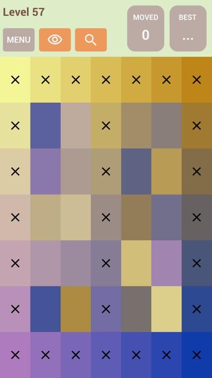 Color Swap Puzzle by Bich Bui