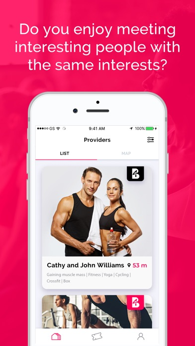 Screenshot for BEFIT4US in United States App Store