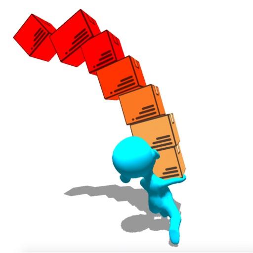 Stack Run Balance 3D Race