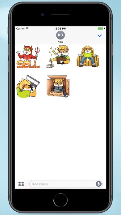 Screenshot for Computer Hamster Stickers in Colombia App Store