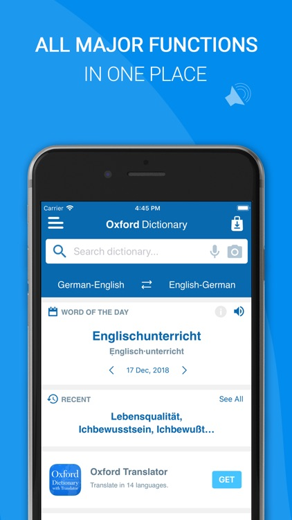 Oxford German Dictionary screenshot-3