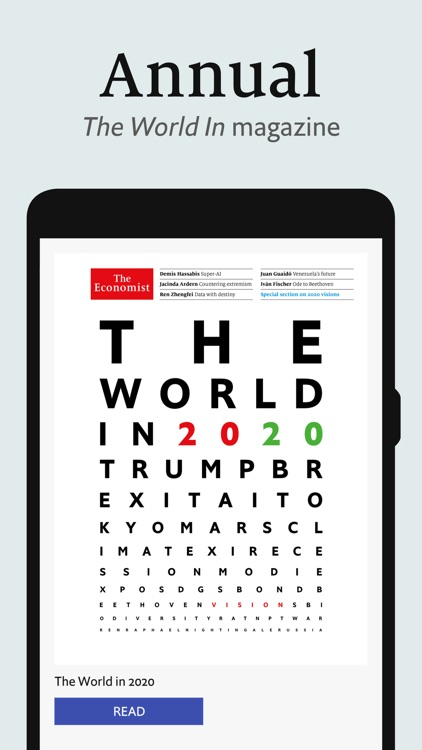 The Economist weekly IN issue screenshot-6