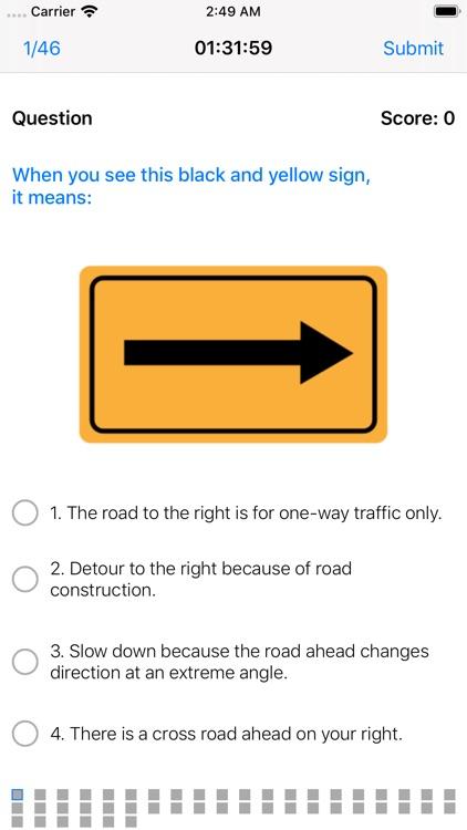 DMV Driving License Test 2020 screenshot-3
