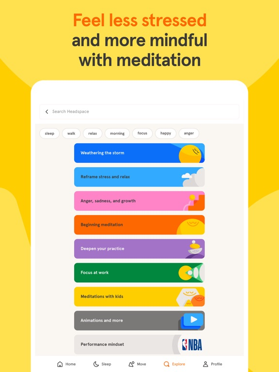 Headspace: Meditation & Sleepのおすすめ画像1
