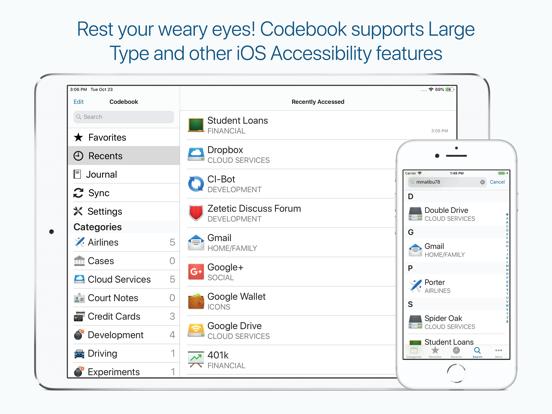 Codebook Password Manager screenshot 19