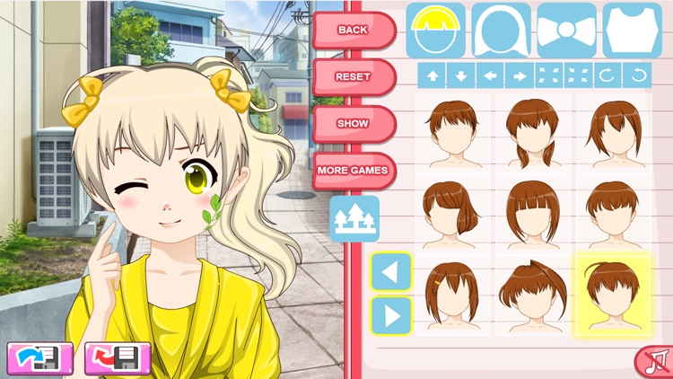 Girls Anime Avatar Creator screenshot-4