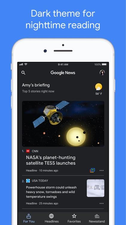 Google News screenshot-5