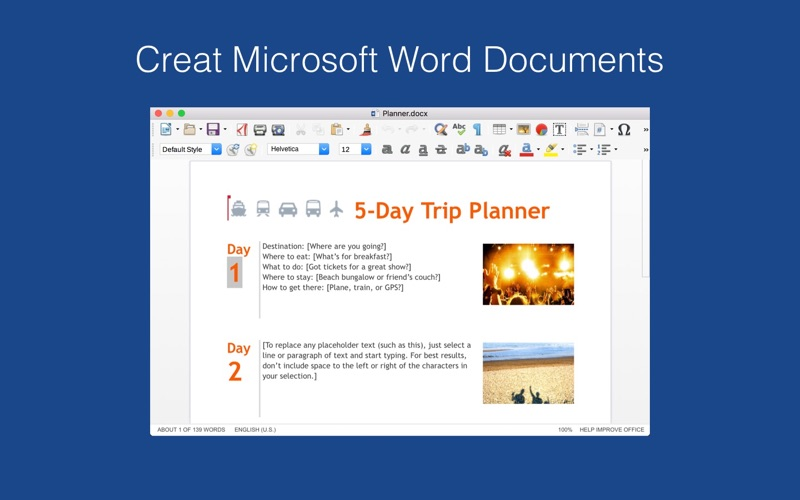 Screenshot #1 for Doc Mate: for MS Office