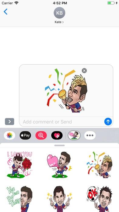 Screenshot of Soccer - Stickers Pack App