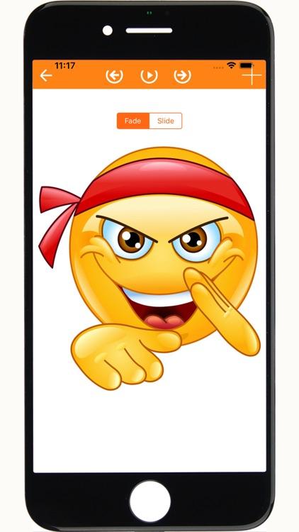 Emoji emoticons for chat screenshot-5