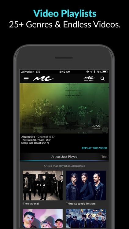 Music Choice: Ad-Free Music screenshot-3