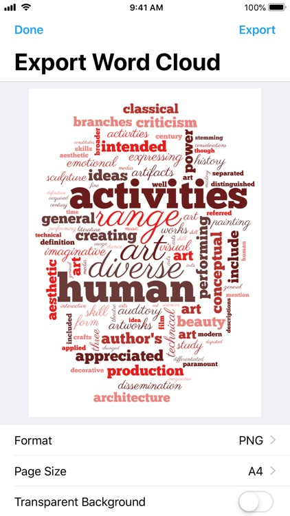 Wordsalad - Smart Word Clouds screenshot-5