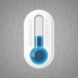 全能温度计-室内外实时温湿度计
