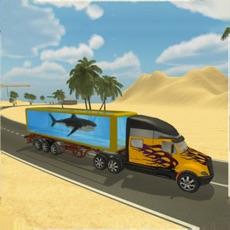 Activities of Sea Animal Transporter Truck
