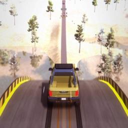Mega Ramp Stunt Crash Games 3D