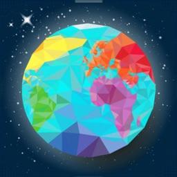 World map geography: quiz