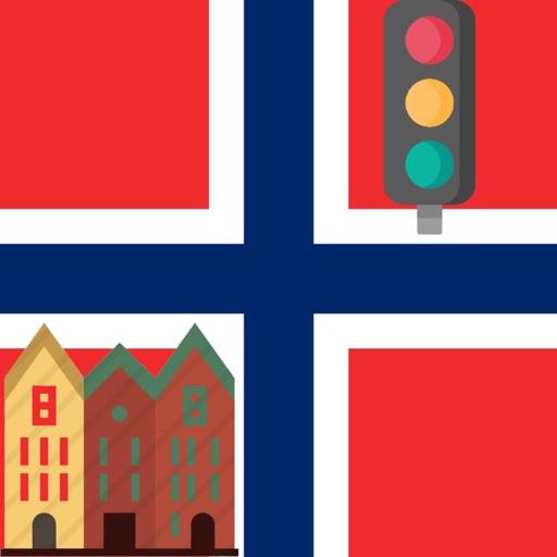 Norske Veiskilt Trafikkskilt