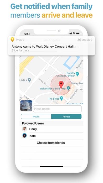Imapp review screenshots
