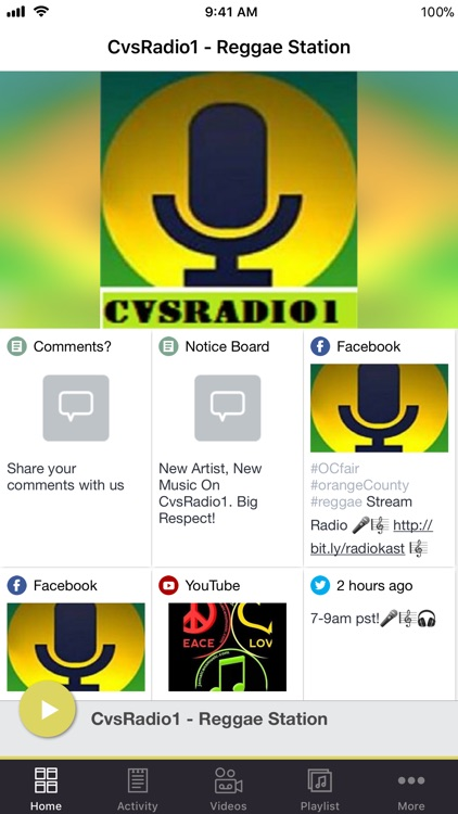 CvsRadio1 - Reggae Station
