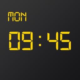 LED Clock-Pure Color Clock