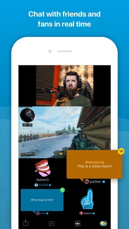 Caffeine: Live Games & Sports screenshot-3
