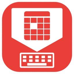 ApptBoard - Calendar keyboard