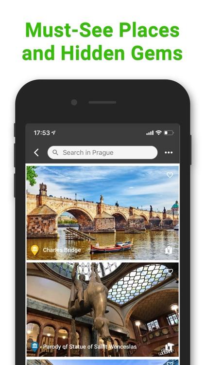 SmartGuide travel guide & map screenshot-3