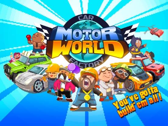 Motor World: Car Factory iPad app afbeelding 6