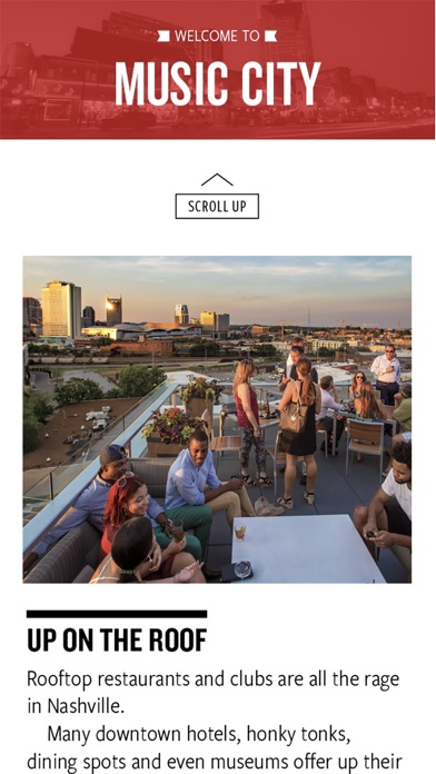 Screenshot for The Nashville Visitors Guide in United States App Store