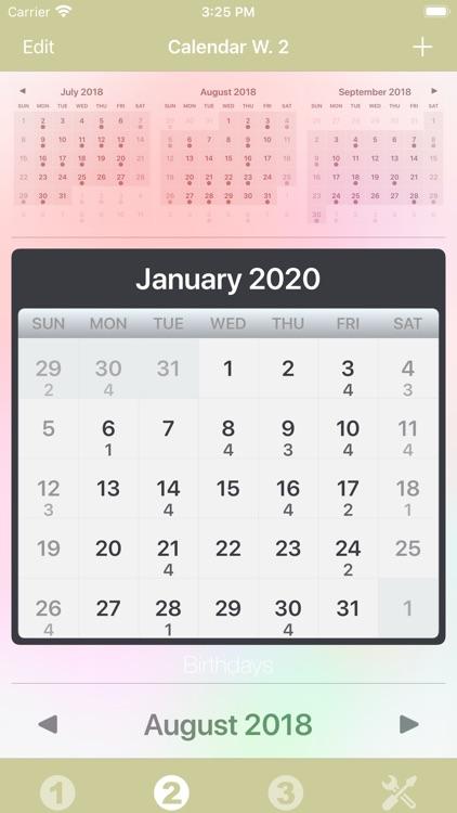 Calendar Widget screenshot-5