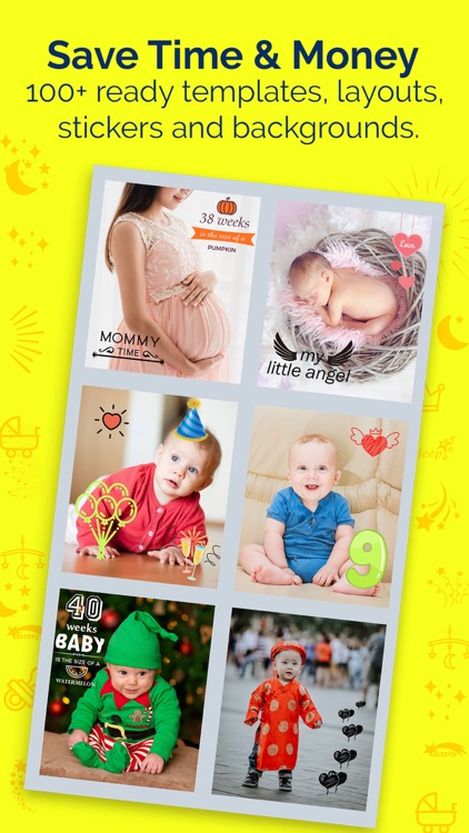 Baby Story Photo Maker