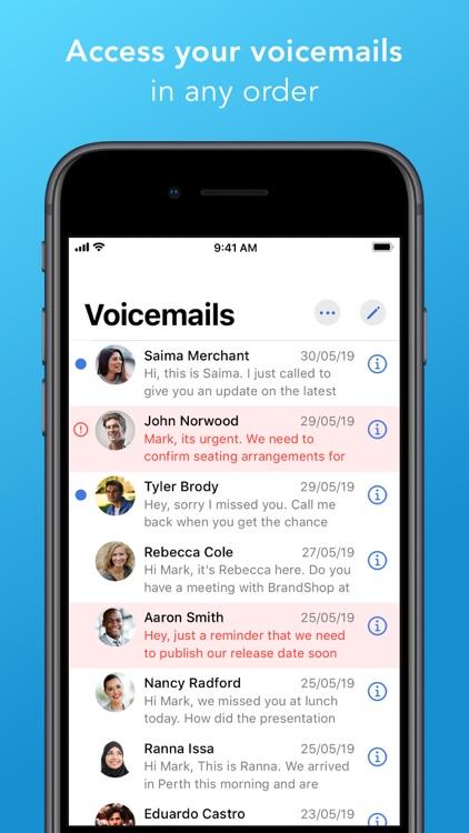 World Voicemail screenshot-5