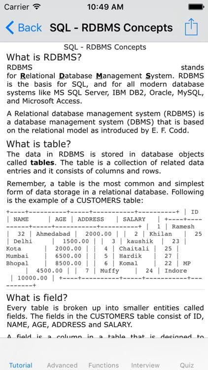 Learn SQL-Interview|Manual screenshot-3