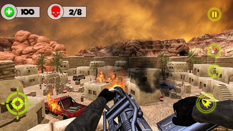 Desert Storm Gunship Gunner 3d screenshot-4