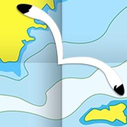 AIS Map : Marine & Lake charts