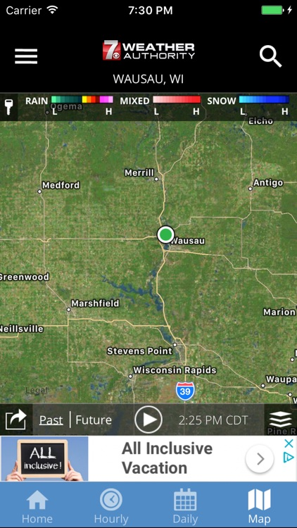 WSAW WZAW First Alert Weather screenshot-3