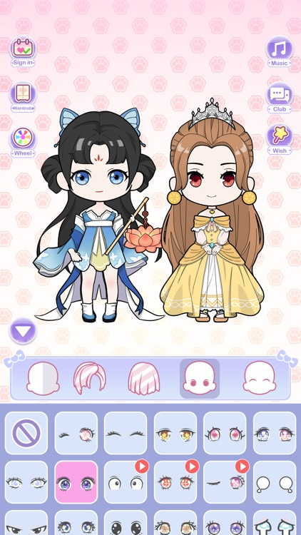 Vlinder Dolls - Dress Up Games screenshot-5
