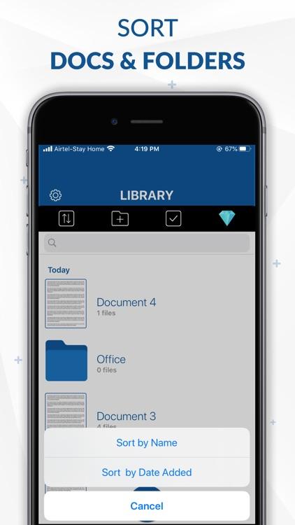 PDF Scanner App- Document Scan screenshot-7